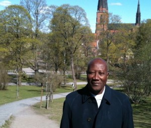 Phillipe Ouédraogo i Uppsala