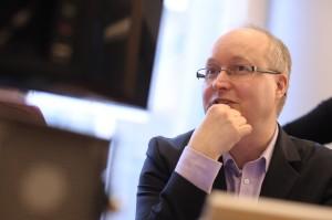 Mikael Gustavsson, EU-parlamentariker för Vänsterpartiet.
