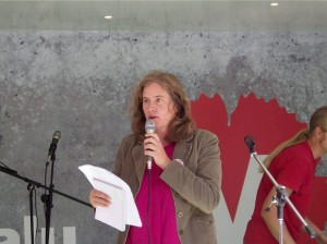 Emma Wallrup, nummer 1 på listan till riksdagen.