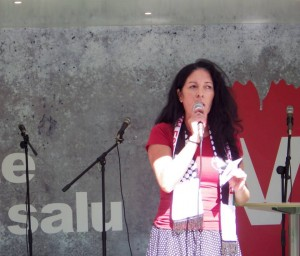 Jeannette Escanilla, nummer 1 på listan till landstinget och nummer 2 på listan riksdagen.